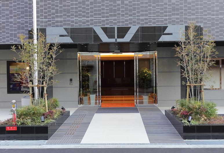 Welina Hotel Dotonbori, Осака, Фасад отеля