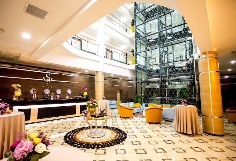 West Shine Hotel, Baku, Zitruimte lobby