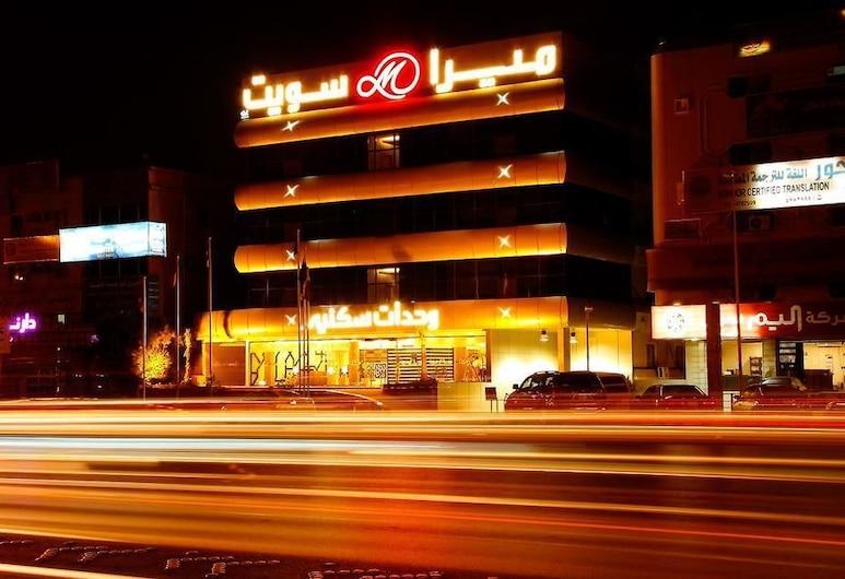 Meera Suites, Ριάντ, Πρόσοψη ξενοδοχείου - βράδυ/νύχτα