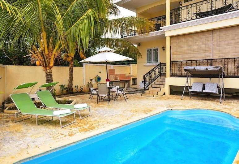 Sunset Villa, Flic-En-Flac, Εξωτερική πισίνα