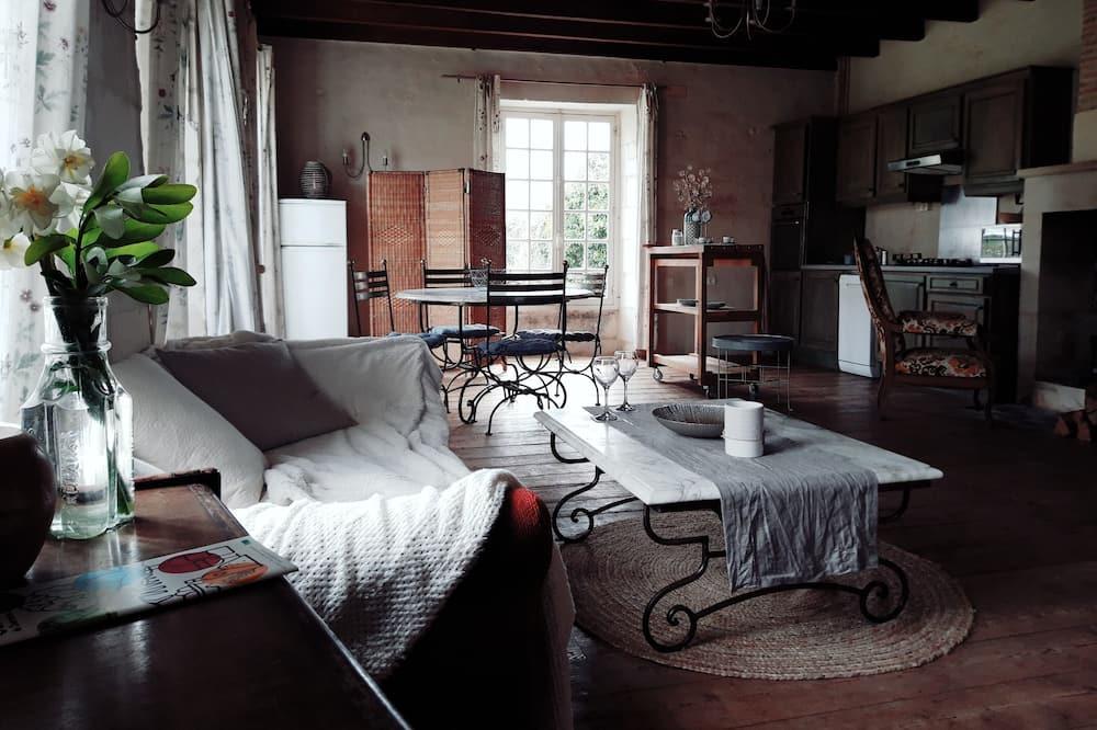 獨棟房屋 (Le Vivier) - 客廳