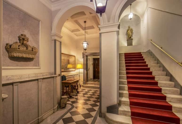 Borgognona Rooms, Rome, Interior Entrance