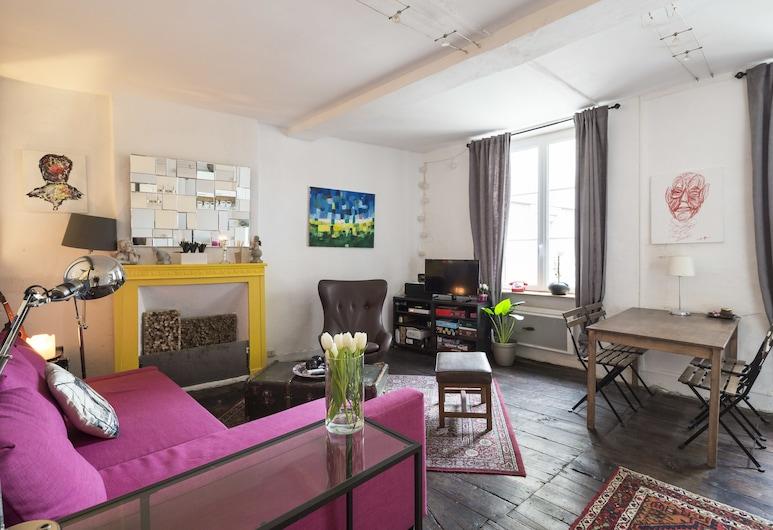 L'Atelier, Saint-Malo, Apartment, 1 Bedroom, Living Area