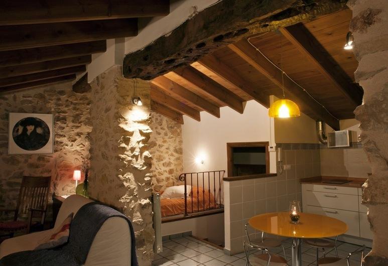 La Llar d´Aitana, Alcoleja, Loftový byt, Obývací prostor