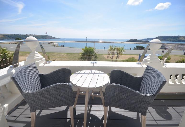 1 Elliot Terrace, Πλύμουθ, Grand Διαμέρισμα, 1 Queen Κρεβάτι με Καναπέ-Κρεβάτι, Κουζίνα, Θέα στη Θάλασσα (Lady Astor Apartment), Δωμάτιο