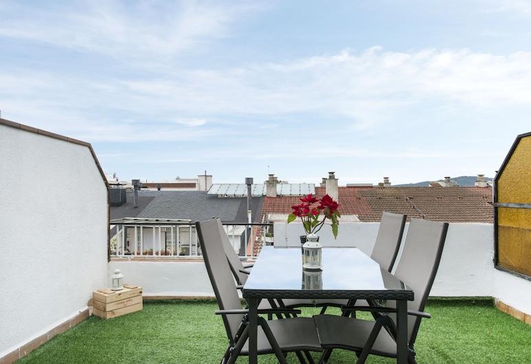 Apartamento Santiago Rusinol, Pineda de Mar, Penthouse, 2 slaapkamers, terras, Terras