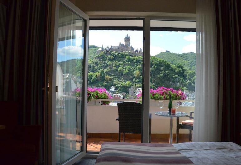 Flair Hotel Am Rosenhügel, Cochem, Habitación doble, balcón (Castle View), Habitación