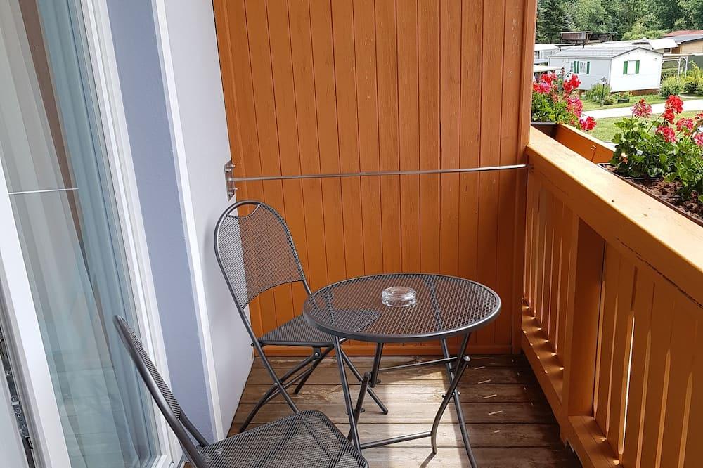 Einzelzimmer, Balkon - Balkon