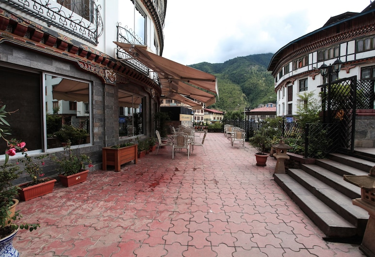 Hotel Galingkha, Thimphu, Parco della struttura