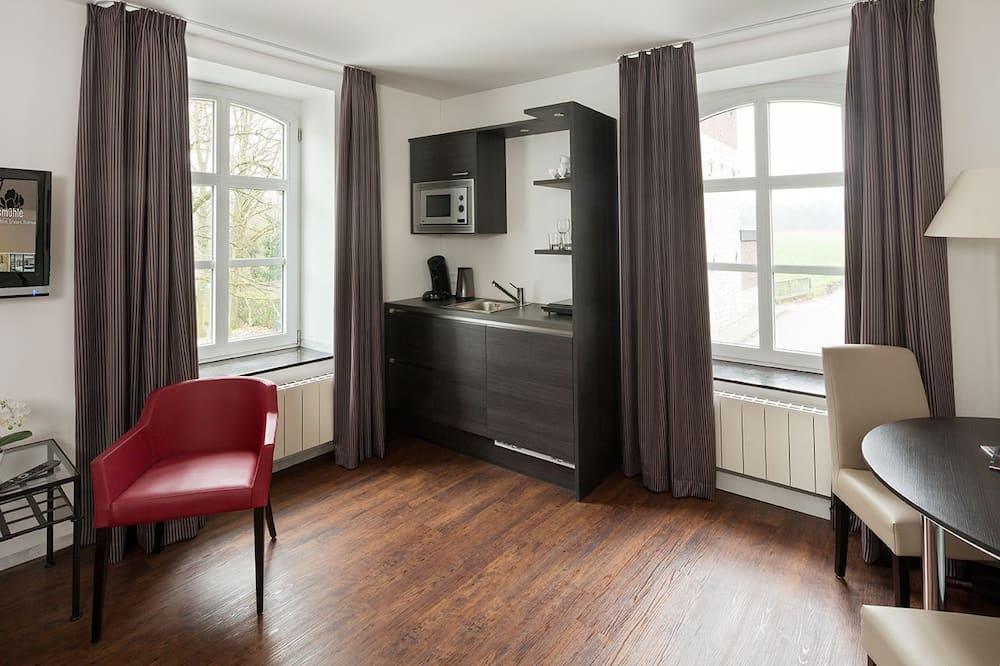 Comfort Double Room, Kitchenette - Living Area