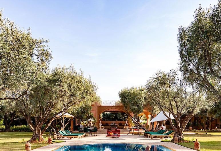 The green life, Marrakech, Building design