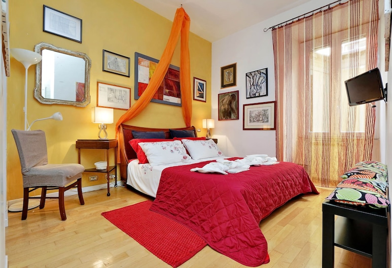 Lucky Holidays Testaccio, Rom, Apartment, 2 Bedrooms (via Amerigo Vespucci 24), Bilik