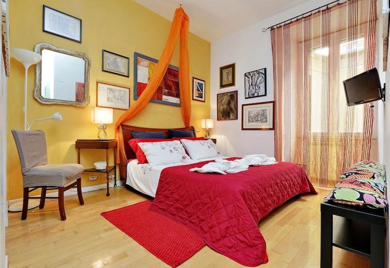 Lucky Holidays Testaccio, Rom, Lejlighed - 2 soveværelser (via Amerigo Vespucci 24), Værelse