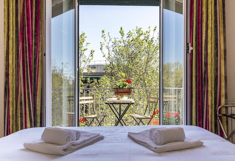 頂樓特拉斯特維雷酒店, 羅馬, 三人房, 露台, 客房
