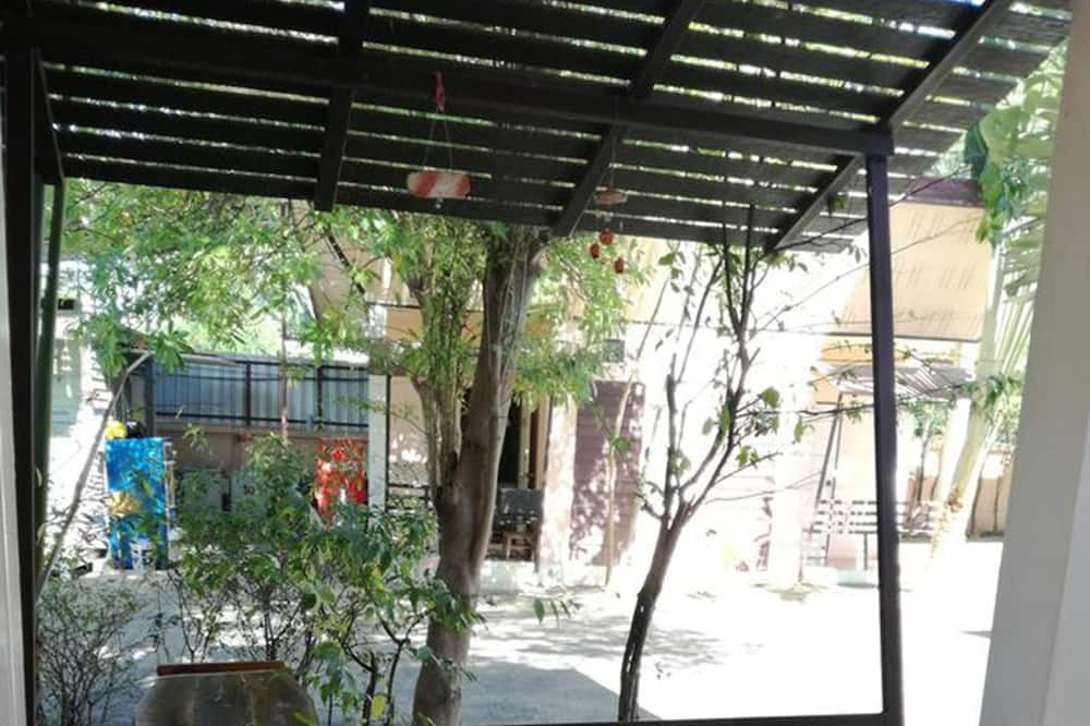 Bungalow - Balkon