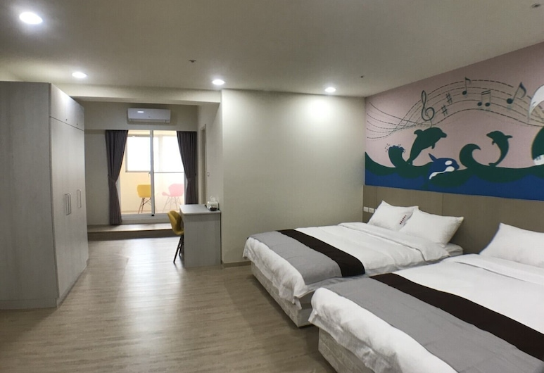 Formosa Boulevard Music City, Kaohsiung, Family Room, Guest Room