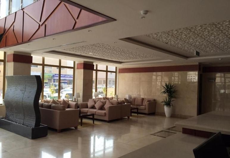 Asfar Plaza Hotel & Apartments, Riyadh, Sittområde i lobbyn