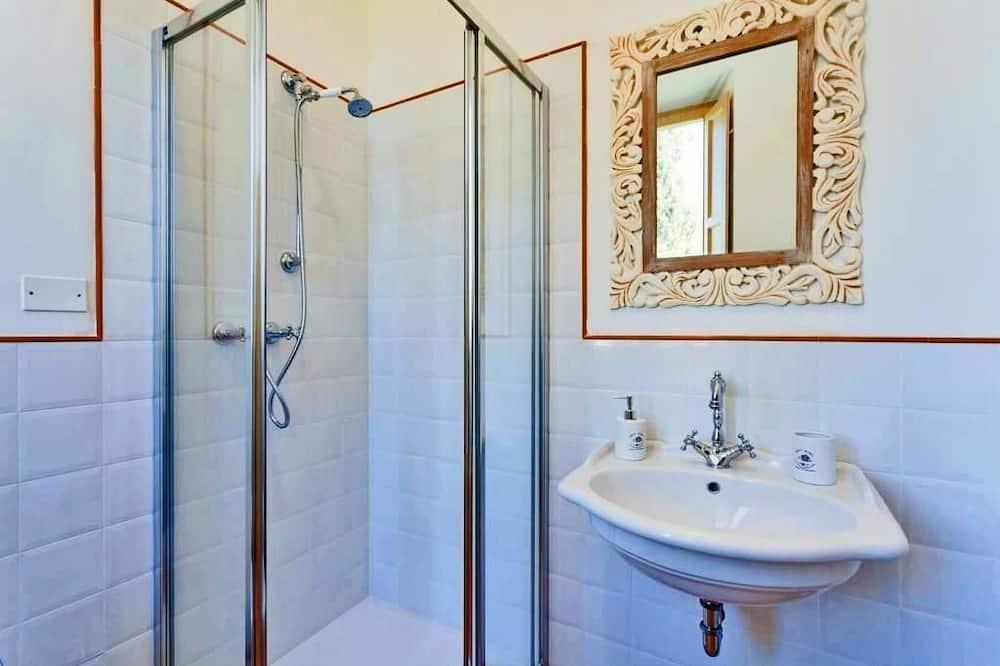 Double superior, external private bathroom, mountain view - Badezimmer