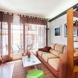 Apartment, 3 Bedrooms, Balcony - Living Room