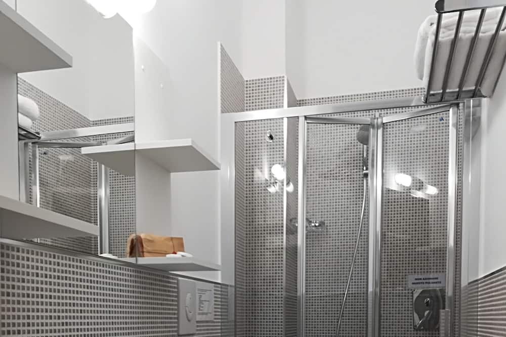 Habitación con 2 camas individuales, 2 camas individuales, baño privado - Cuarto de baño
