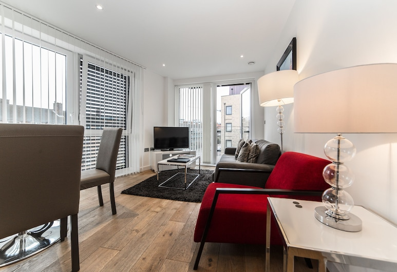 Stay Inn Apartments O2 Arena, London, Apartment, 2Schlafzimmer, Wohnzimmer