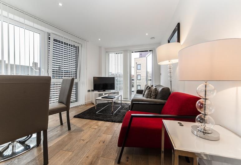 Stay Inn Apartments O2 Arena, Londýn, Apartmán, 2 spálne, Obývačka
