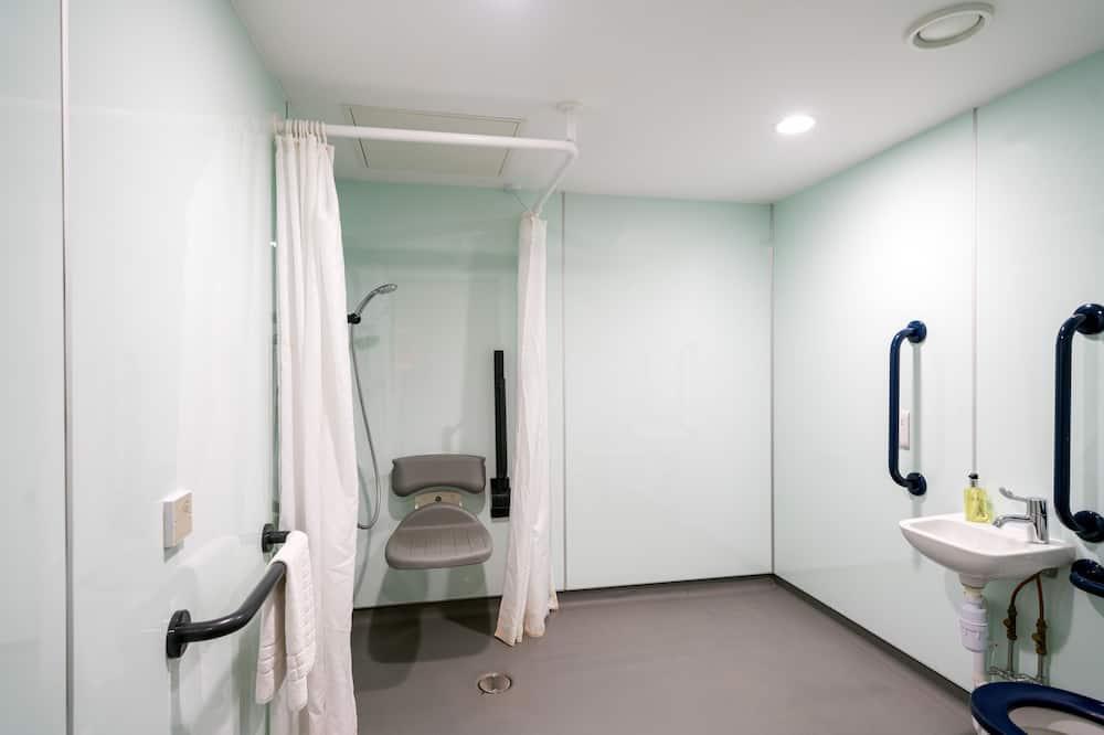 雙人房, 無障礙, 無窗戶 - 浴室