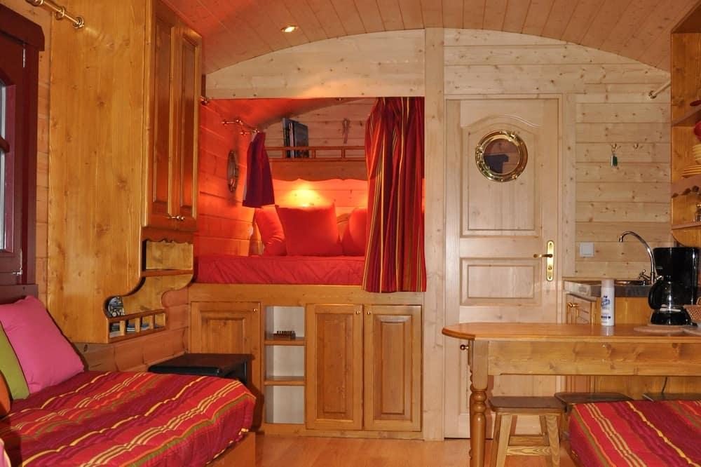 Mobile Unterkunft - Wohnzimmer