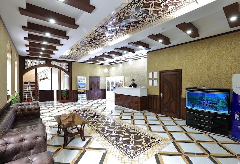 Hotel Seven Seasons, Tashkent, Interior de la entrada