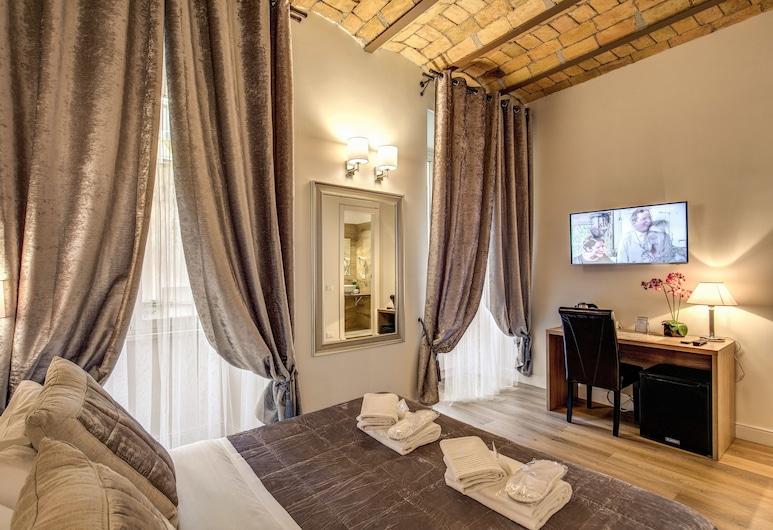 切斯特套房酒店, 羅馬, 豪華雙人房, 1 張加大雙人床, 客房景觀