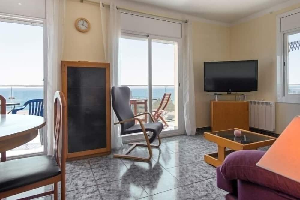 公寓, 2 間臥室, 陽台, 海景 - 客廳