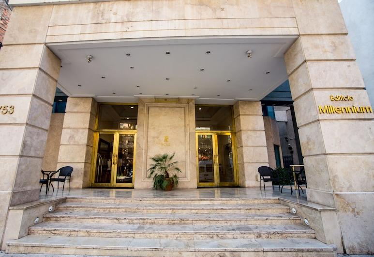 MM Apartments, Mendoza, Entrada del hotel