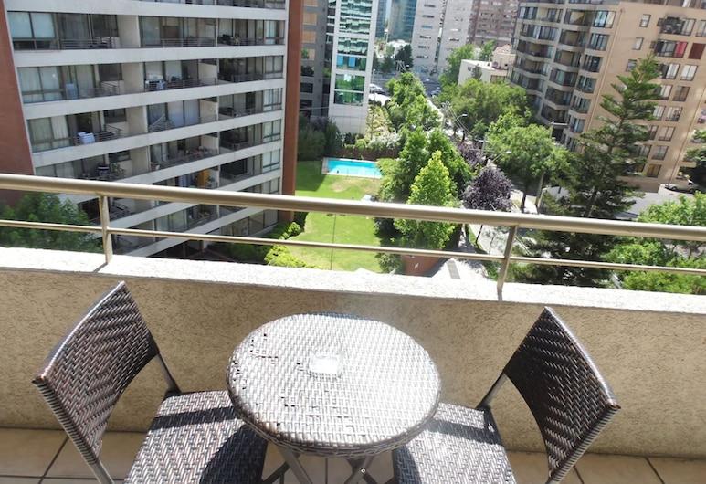 Design Apart Escandinavia 177, Santiago, Apartamento cuadruple, Balkón