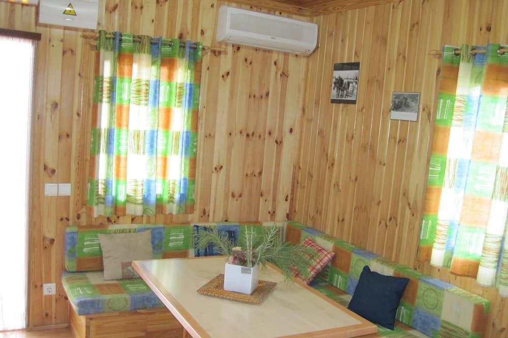 單棟小屋, 2 間臥室 (Max. 5 people) - 客廳