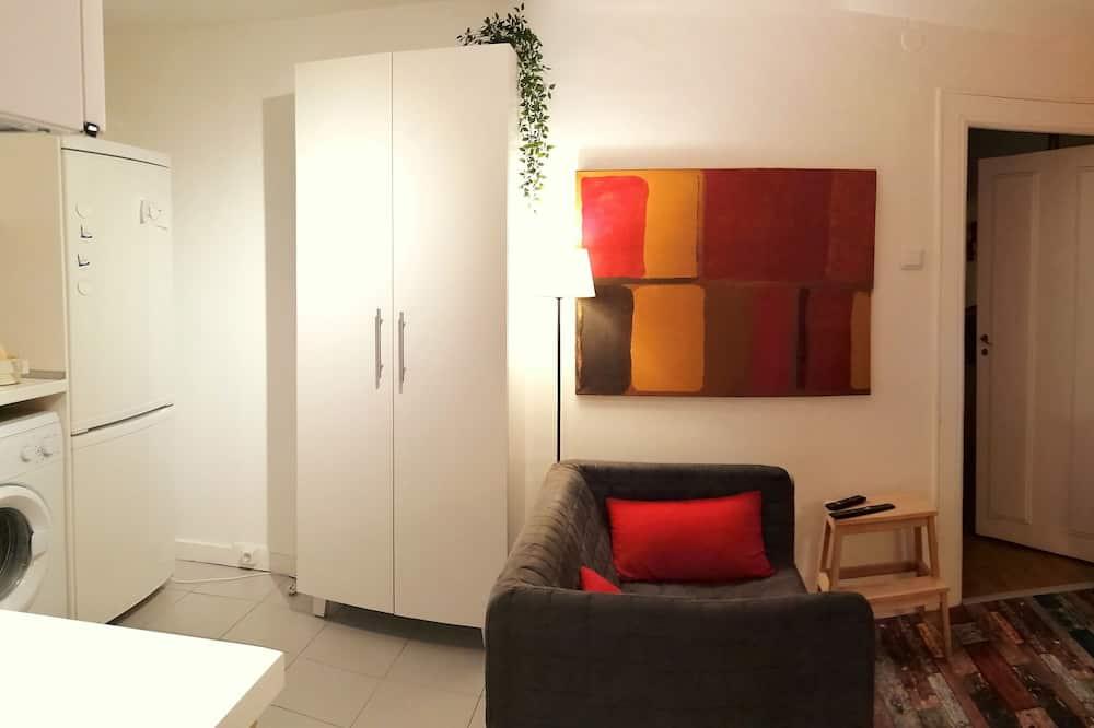 City-Apartment, 2Schlafzimmer - Wohnzimmer