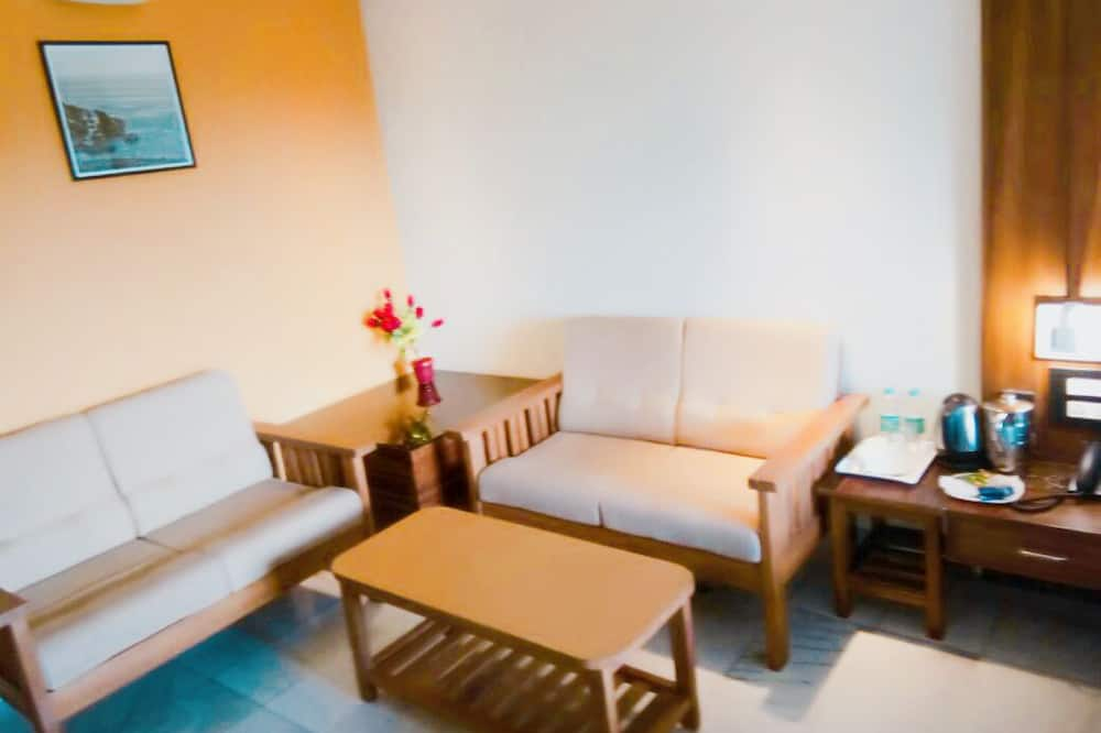 Deluxe Single Room, 1 Bedroom, Private Bathroom, City View - Living Room