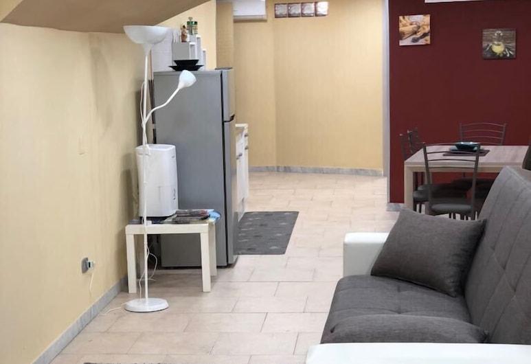 Casa al Museo, Naples, Apartment, Ruang Tamu