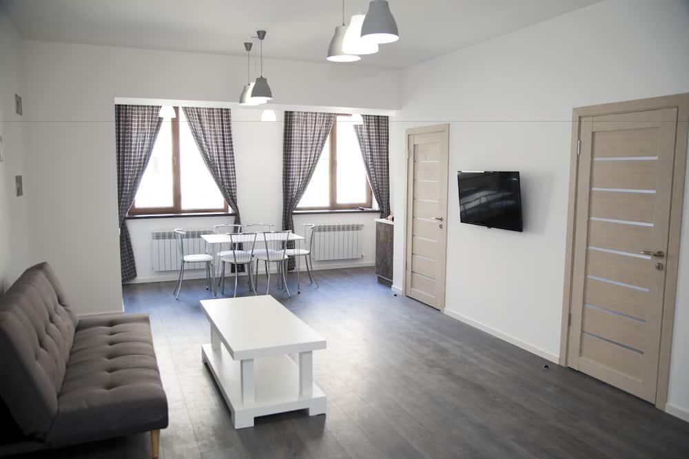 Deluxe-lejlighed - 2 soveværelser - ikke-ryger - Værelse