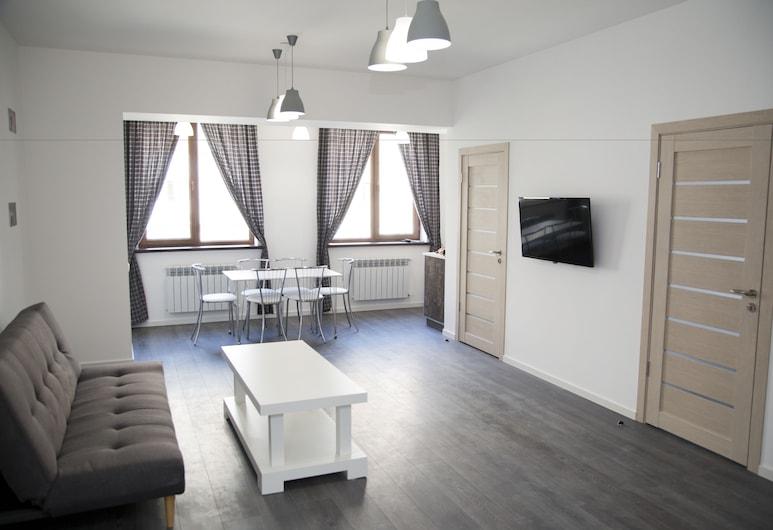 Park Apartments by Picnic, Jerevanas, Liukso klasės apartamentai, 2 miegamieji, Nerūkantiesiems, Kambarys