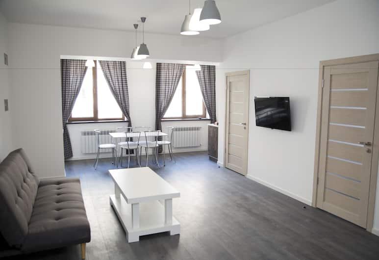 Park Apartments by Picnic, Yerevan, Deluxe appartement, 2 slaapkamers, niet-roken, Kamer