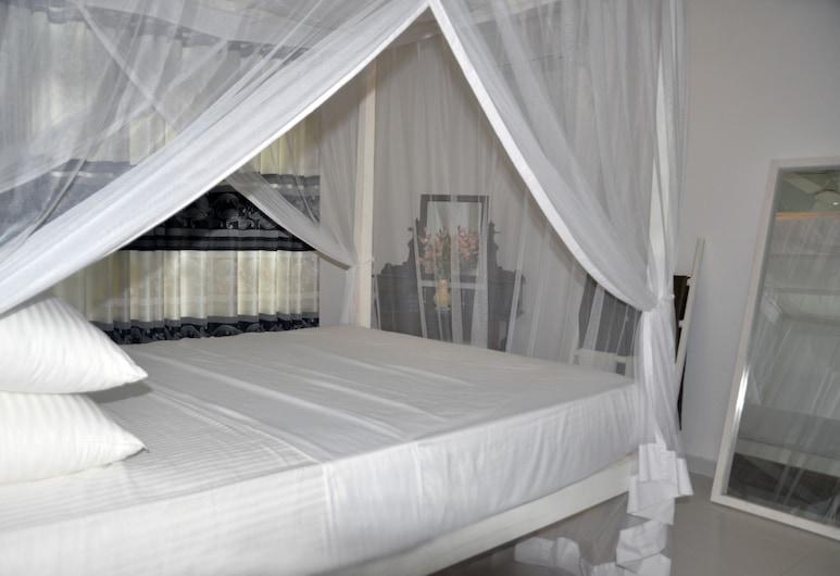 Dineth Villa, Unawatuna, Deluxe-Doppelzimmer, 1 Doppelbett, eigenes Bad, Zimmer