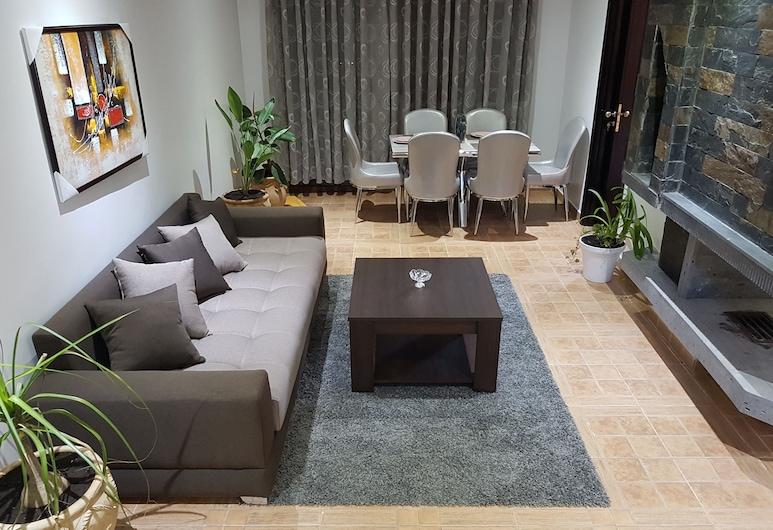 Chalet Asmoun , Imouzzer du Kandar, ชาเลท์สำหรับครอบครัว, 3 ห้องนอน, ห้องนั่งเล่น