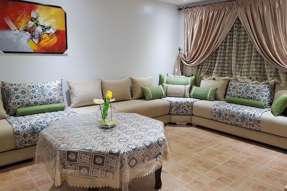 Сімейне шале, 3 спальні - Вітальня