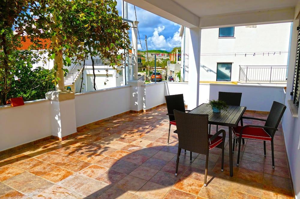 Eenvoudige studio - Balkon