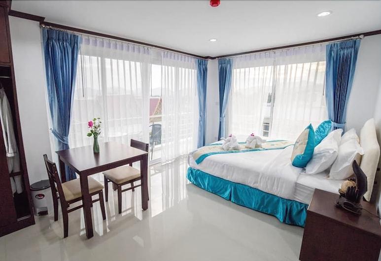 帕塔瑪彭之家酒店, 華欣, 標準客房, 1 張特大雙人床, 海景, 客房