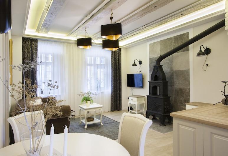 Apartments  Satva, Vilnius, Appartement Supérieur, Coin séjour