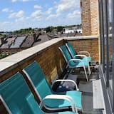 Penthouse, 2 chambres, vue ville - Balcon