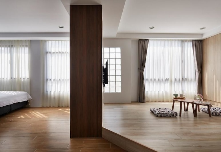 Kapamumu B&B, Jü-čch', Čtyřlůžkový pokoj typu Superior, 2 dvojlůžka (180 cm), Pokoj