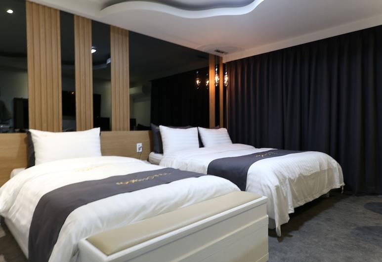 Hotel Look, Daejeon, Tomannsrom – deluxe, Gjesterom