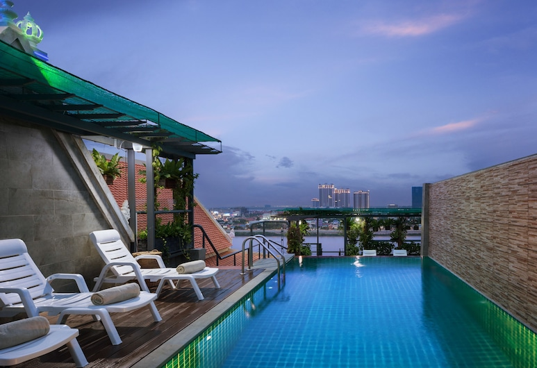 Le Castle River Hotel & Apartment, Phnom Penh